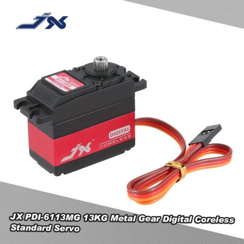 JX PDI-6113MG 13KG Metall Zahnrad Digital Coreless Standard Servo für RC Auto Boot Drone Hubschrauber
