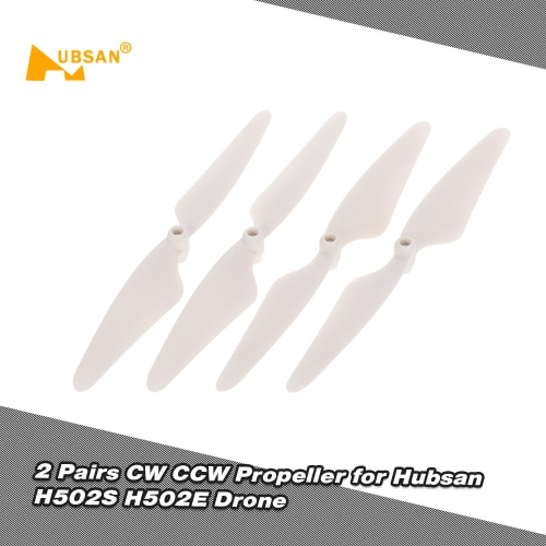 2 Pairs Hubsan CW CCW Propeller for Hubsan X4 H502S H502E RC Drone Quadcopter