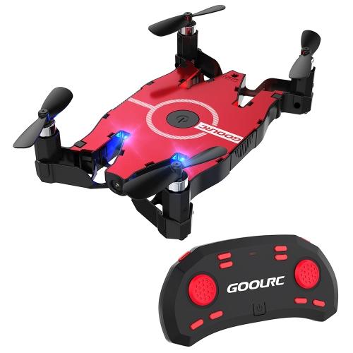 GoolRC T49 6-Axis Gyro WIFI FPV 720P HD Camera Quadcopter Foldable G-sensor RC Selfie Pocket Drone RTF