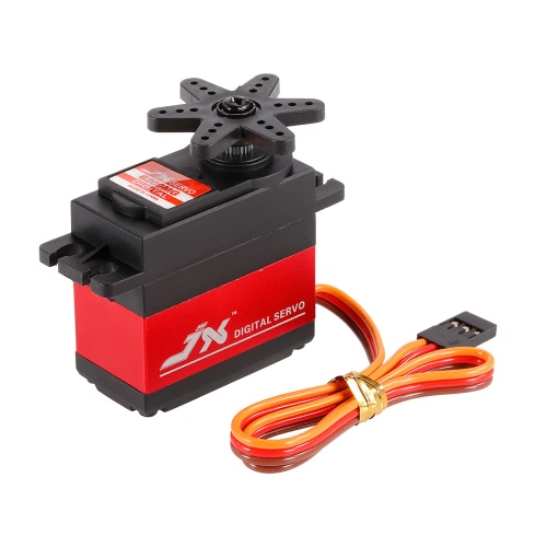 JX PDI-6209MG 4,8V-6V 0,13sec / 60 ° 9,35kg Custodia in alluminio per metallo digitale per auto 1/10 RC