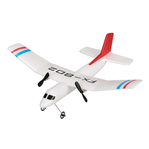 Flybear FX-802 2.4G 2CH Controle Remoto Glider 310mm Wingspan EPP Micro Indoor RC Airplane Aircraft RTF