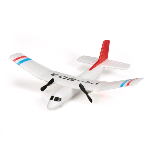 Flybear FX-802 2.4G 2CH Remote Control Glider 310mm Wingspan EPP Micro Indoor RC Airplane Aircraft RTF
