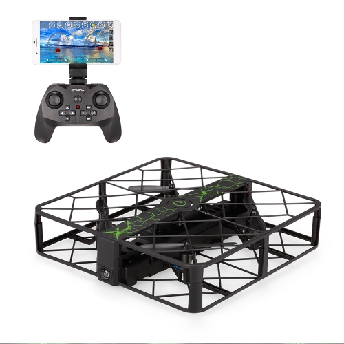 Z8W 720P Câmera de grande angular Wifi FPV Square Drone Height Hold One Key Return G-sensor Quadcopter