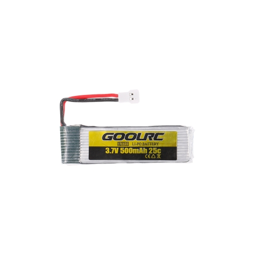 4pcs GoolRC 3.7V 500mah 25C Li-po Battery with 4 in 1 USB Battery Charger for GoolRC T37 JJR/C H37 Drone Quadcopter RM9027