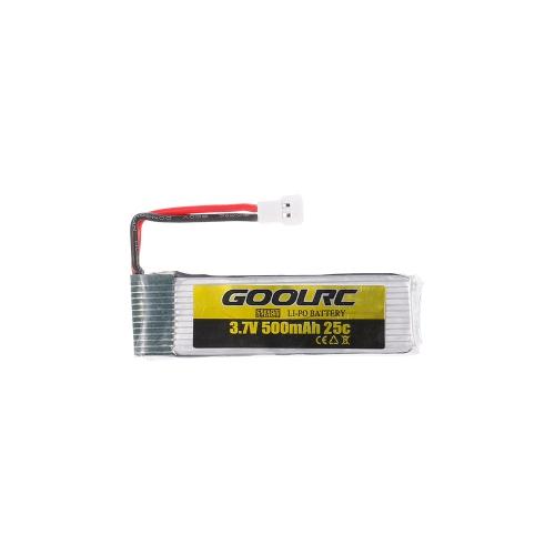 Batteria 4pcs GoolRC 3.7V 500mah 25C Li-po con 4 in 1 caricabatteria USB per GoolRC T37 JJR / C H37 Drone Quadcopter