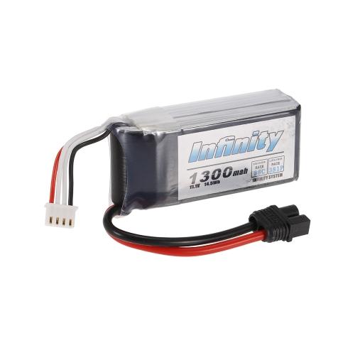 Infinity 3S 11.V 1300mAh 35C LiPo Battery SY60 for XT60 Plug 210 250 280 Racing Drone RC Car   Boat
