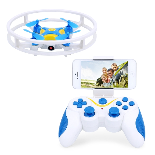 DWi Dowellin D1 Wifi FPV Integrated Protector Ring RC Quadcopter - RTF