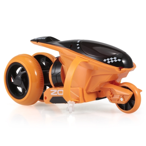 QF100 RC 2CH Drift Motorcycle Stunt Car Toy Gift for Children