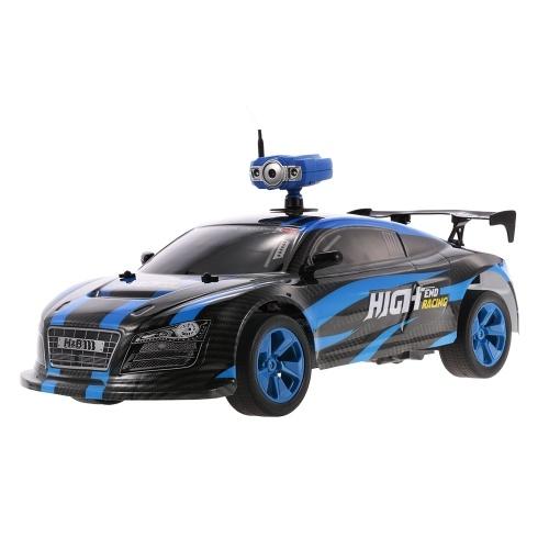 Crazon 181001 1/10 2.4G 2CH 2WD de Alta Velocidad 15 km / h RC Drifting Car con 0.3MP Wifi FPV Cámara Deportiva de Carreras de Coches Regalo de Los Niños Juguete de Los Niños
