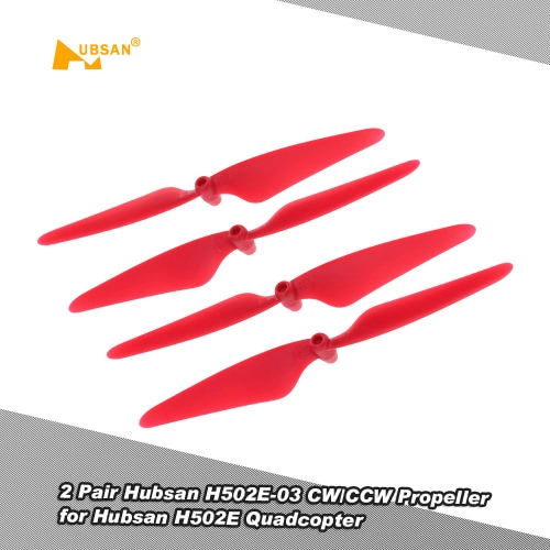 2 Pair Original Hubsan H502E-03 CW/CCW Propeller for Hubsan H502E H502S H502C RC Quadcopter Drone