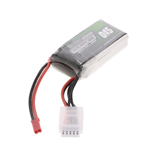 14.8V 450mAh 30C 4S Rechargeable Li-Po Battery with JST Plug for RC Racing Drone Quadcopter Helicopter Airplane Car Truck