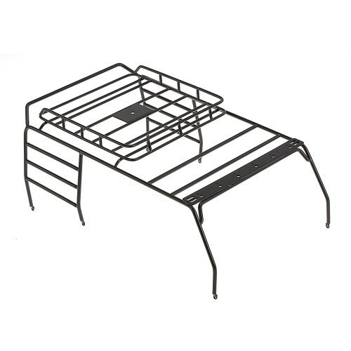 Suporte de Rack de Bagagem do Metal telhado para 1/10 AXIAL SCX10 JEEP Wrangler JK Rastreador RC Carro Off-Road