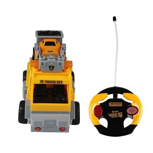 18Pcs DIY Building Blocks Car 1/18 Infrared Remote Control RC Car Image