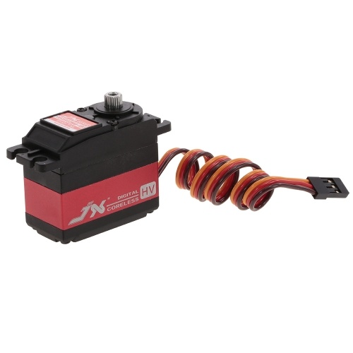 JX PDI-HV5932MG-180 32KG 180 ° Angle Metal Gear HV Digital Coreless Servo pour RC Voiture Hélicoptère Avion