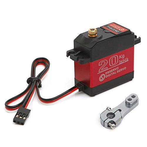 DSSERVO DS3218MG 20kg Metal Gear Digital Steering Servo for RC Baja Car Buggy Truck Boat Airplane Helicopter