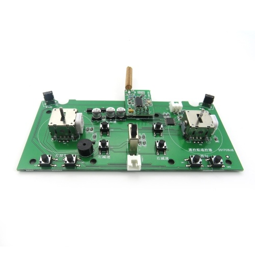 Carte de circuit de transmetteur pour Flytec 2011-5 1.5kg Chargement de bateau d'appât de pêche de contrôle à distance