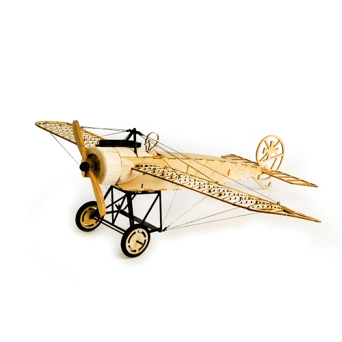 Dancing Wings Hobby VX08 1/23 Fokker-E 410mm Wingspan Balsa Wooden Static Airplane Model