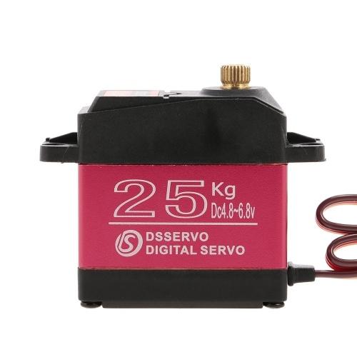Servo Numérique Imperméable DSSERVO DS3225 25KG Pignon Métallique