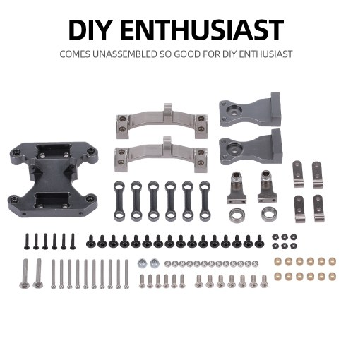 WPL Metal Seesaw Kit for B16 B36 RC Car WPL Trailer Easy to Install