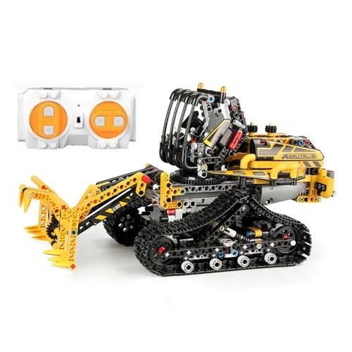873PCS Remote Control Building Blocks Car RC Truck Building Blocks Educational Toys