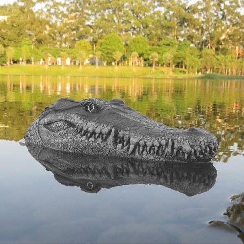 Flytec V005 2.4G Bateau de course électrique télécommandé avec tête de crocodile simulé