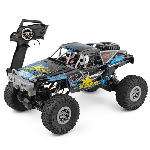 Wltoys 104310 2.4G RTR 1/10 Climbing Car 4WD Dual Motor RC Buggy Off Road Remote Control Car