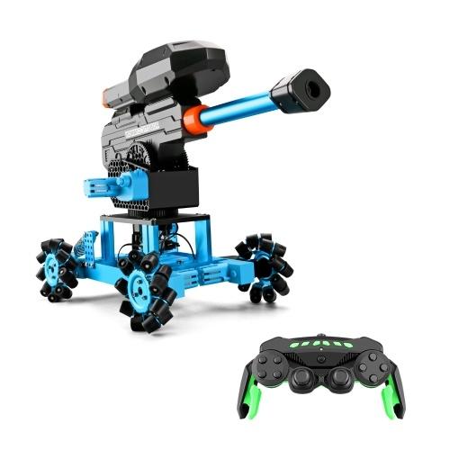 K7 2.4Ghz RC Robotic Car Aluminum Alloy Remote Control Robot with Wheels DIY Building Toy Image