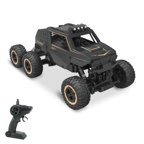 YIDAJIA D821 2.4GHz RC Crawlers RTR 1/12 Scale 6WD Off Road Truck Rock Crawler Car