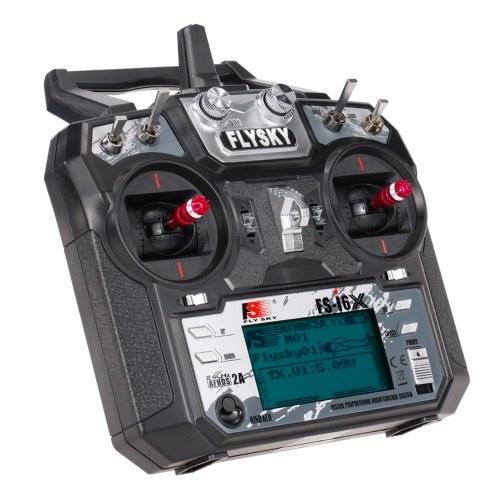Flysky FS-i6X 2,4 GHz 10CH AFHDS 2A RC Transmissor com receptor FS-iA10B para helicóptero de avião drone RC