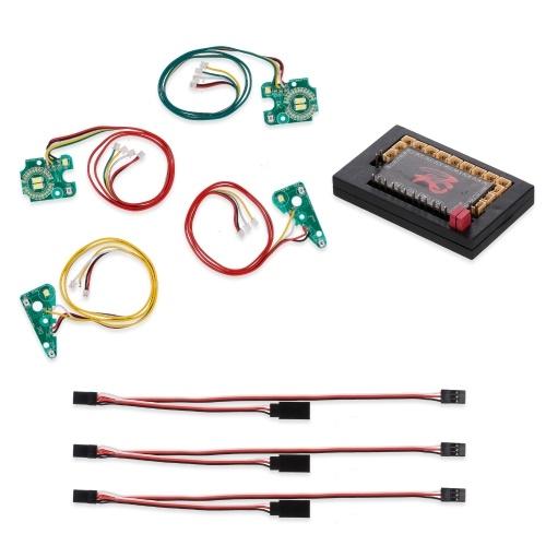 Compatibile con Traxxas TRX-4 RC Cars Kit di luci a LED per luci anteriori posteriori