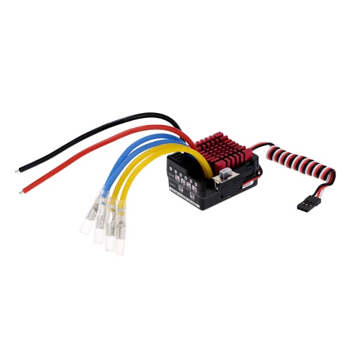 Originally Hobbywing QUICRUN Series 860 60A Waterproof Brushed Electronic Speed Controller ESC with 5V/3A Linear Mode BEC for 1/8 RC Car