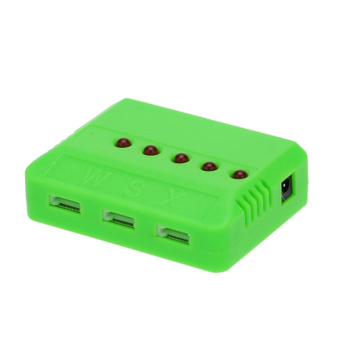 GoolRC 5Pcs 3.7V 150mAh 30C Akumulator Li-po i 5-portowa ładowarka do JJRC H8 Mini Drill Drift
