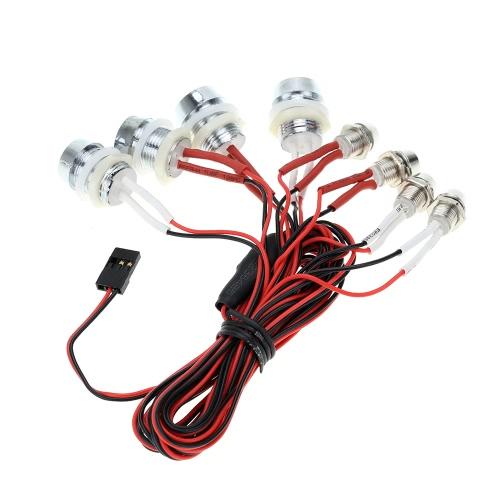 GTPOWER L8 LED Lichtsystem für RC Auto LKW Modell