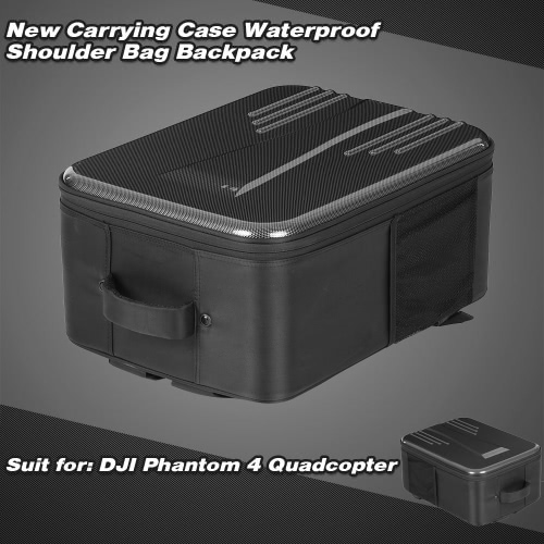 New Carrying Case Waterproof Shoulder Bag Backpack for DJI Phantom 4 FPV Quadcopter