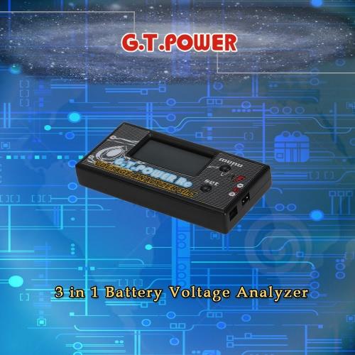 GTPOWER 3 w 1 Napięcie akumulatora analizator Śmigłowiec RC Samoloty samochodów