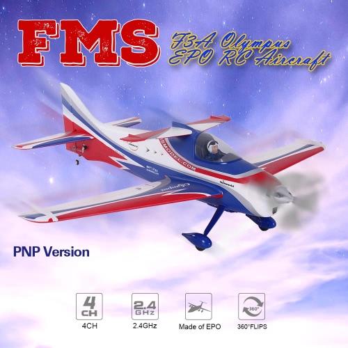 Fms 1400MM F3A Olympus EPO PNP RC Aircraft 4CH 2.4GHz Airplane RC Aircraft