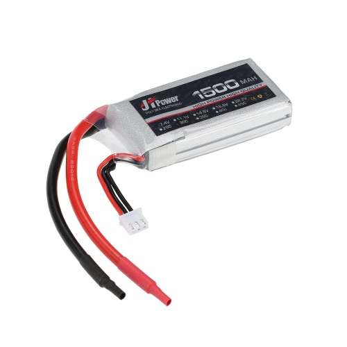 JHpower 7.4V 1500mAh 30C 2S Batterie Li-Po pour RC Quadcopter Avion Helicopter Car Truck Boat Hobby