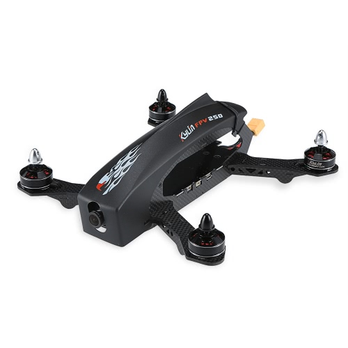 Original-KDS Kylin FPV 250 Carbon Fiber ARF Racing Drone RC Quadcopter Kit mit 800TVL HD-Videokamera