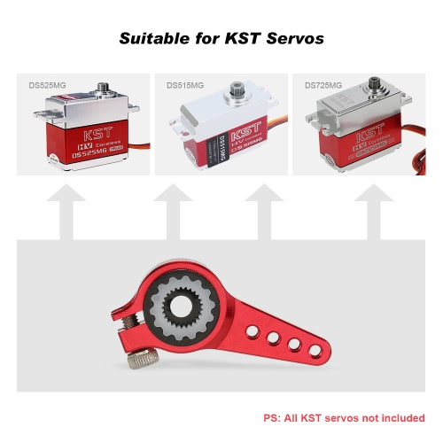 KST 25T CNC Metal Servo Arm for KST Servos