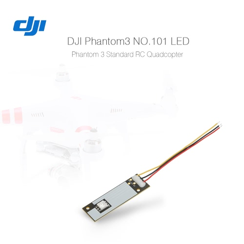 Originale DJI Phantom3 pezzo di ricambio No.101 LED per DJI Phantom 3 Standard Version RC Quadcopter elicottero