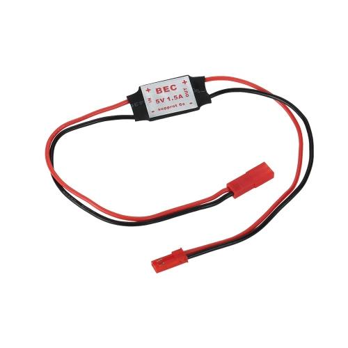 Mini 1.5A Ligera Módulo descender / 5V 2-4S Switch Mode UBEC para el helicóptero Quadcopter receptor cardán Servo Power Supply