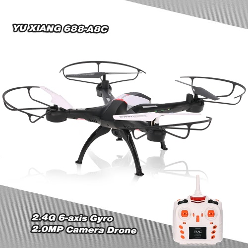 YU XIANG 688-A8C Scout 2.4G 4CH 6-axis Gyro 2.0MP Camera Drone with Headless Mode 3D Flip RC Quadcopter
