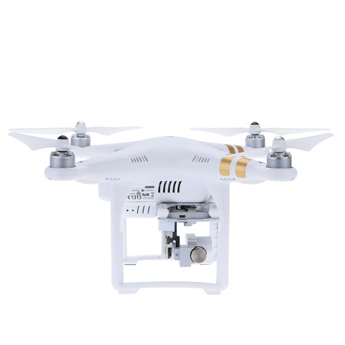 Original DJI Phantom 3 Professional Version FPV RC Quadcopter 4K HD Camera RTF Drone with Auto-takeoff/Auto-return home/Failsafe Function & One Extra Battery and Phantom Backpack