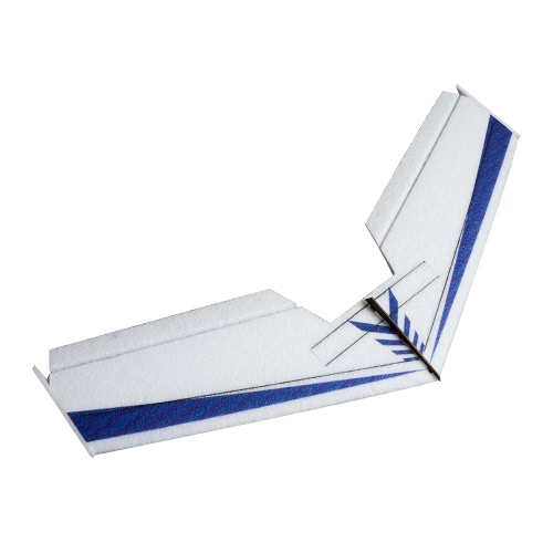 DW HOBBY Rainbow Flying Wing V2 EPP 800mm Wingspan Tail Push KIT KIT FPV RC Airplane with Motor ESC Servo