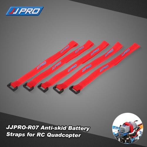 5pcs JJR/C JJPRO-R07 24*1.3cm Magic Sticker Strap Anti-skid Battery Tape for F450 QAV250 P130 Racer 250 RC Racing Quadcopter
