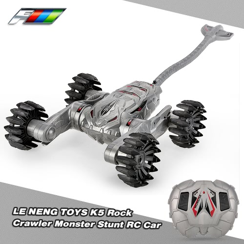 LE NENG TOYS K5 2.4GHz Radio Control Electric Simulated Scorpion Off-road Rock Crawler RTR Monster Stunt RC Car