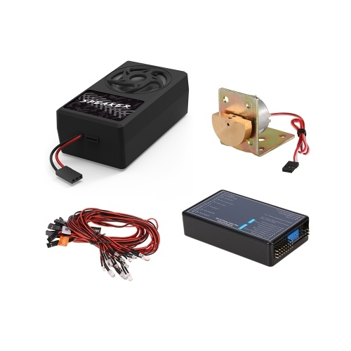 Oryginalny system oświetlenia samochodowego GTPOWER Container Truck i system wibracji głosowej
