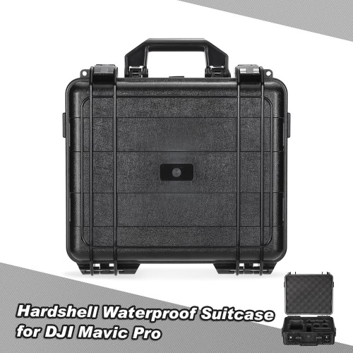 Hardshell Waterproof Suitcase Portable Handbag Carrying Case for DJI Mavic Pro FPV RC Quadcopter