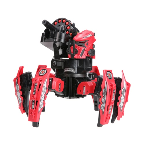 KEYE Toys 9006-1 2.4G Remote Control Space Warrior DIY Assembly Battle Robot RC Toy от Tomtop.com INT
