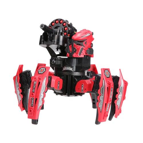 KEYE Toys 9006-1 2.4GリモートコントロールスペースウォリアーDIYアセンブリバトルロボットRCおもちゃ